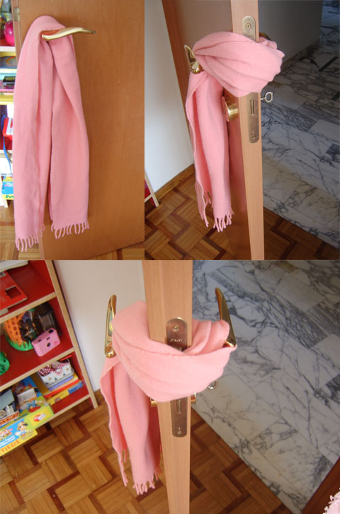 Porte che sbattono mettici una sciarpa casa fai da te - Fai da te casa ...