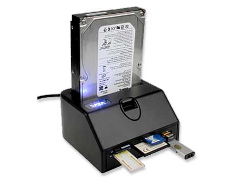 La dock station per hard disk